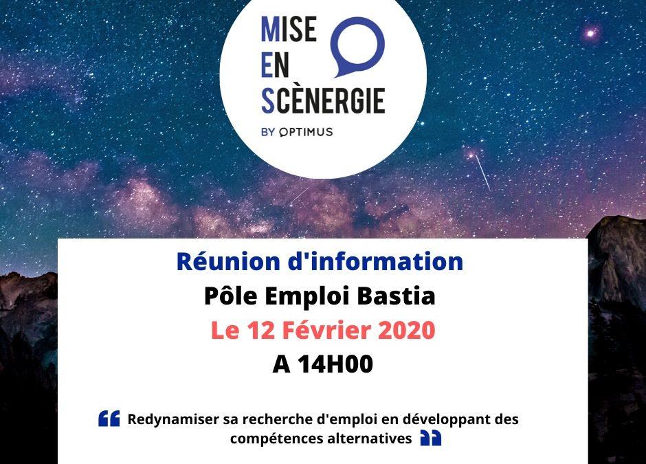 Réunion d'information sur Bastia