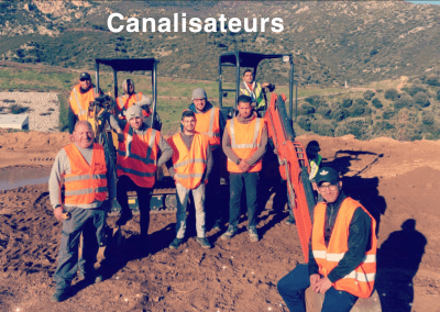 Formation canalisateur